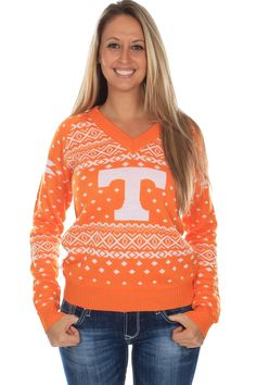 Women's University of Tennessee Sweater. Go Vols!