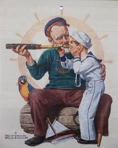 The Sailor - Norman Rockwell