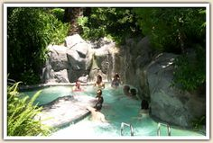 Group Hot Tub At Sycamore Springs In Avila Beach I Love This Place