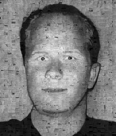 POWERFUL PORTRAITS OF SCHOOL SHOOTERS CONSTRUCTED FROM NEWSPAPER...