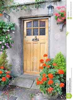 front door ideas for old farmhouses | English Colonial Interior Design in addition Abundant Apple Blossom ...
