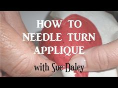 Ep 6 How to Sew Clamshells: Sue Daley's Shape Up English Paper Piecing School - YouTube