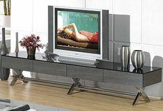 Gray Modern Tv stand