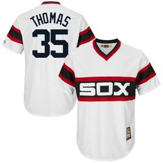 6ebdfbc6660 Frank Thomas Chicago White Sox Majestic Cool Base Cooperstown Collection  Player Jersey - White Navy