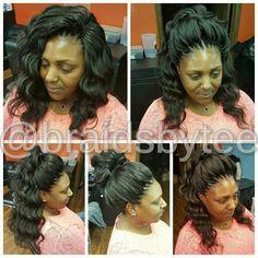 Crochet curls