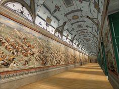 Decoración de El Escorial / Cómo la nobleza se servía del arte para fortalecer su poder.   ahora vas y lo cascas...