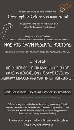 Educate yourself before you pay homage to a man who committed the largest genocide in history.
