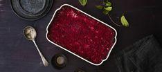 Punajuurilaatikko   Pääruoat   Reseptit – K-Ruoka Grill Pan, Nom Nom, Steak, Grilling, Beef, Recipes, Food, Christmas, Griddle Pan