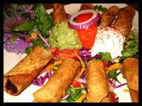 Appetizers at Anamia's, a terrific (and locally owned) Tex-Mex restaurant in Coppell.