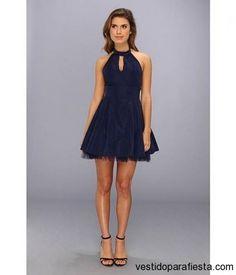 Vestidos de fiesta cortos con escote gota 2014…