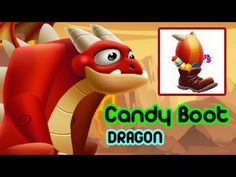 Candy Boot Dragon In Dragon City Level UP Egg Review