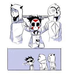 Cartoonz,Vanoss, and Delirious
