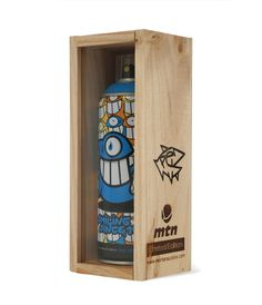 Artist Edition MTN Spray Can By PEZ Street Art, Spray Can, Illustrations, Bottle Opener, Graffiti, Packaging, Canning, Artist, Lifestyle