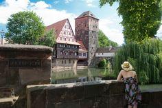 Blick auf den Weinstadel in Nürnberg