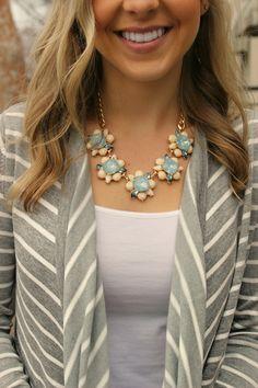 Best Regards Necklace- Blue
