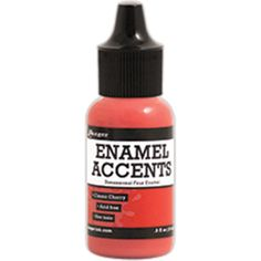 Ranger Inkssentials Enamel Accents .5oz - Classic Cherry