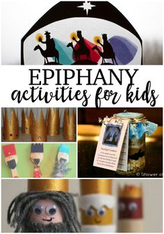 Christmas isn't over yet! Keep the festivities going for 12 days and celebrate Epiphany with Christmas Is Over, Christmas Crafts For Kids, Crafts For Teens, Christmas Christmas, Catholic Crafts, Catholic Kids, Epiphany Crafts, Man Crafts, Three Wise Men