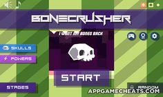 Bonecrusher Cheats, Hack, & Tips for Bones, Coins, All Skulls & All Powers Unlock  #Arcade #Bonecrusher #Strategy http://appgamecheats.com/bonecrusher-cheats-hack-tips/