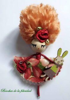 Yarn Dolls, Fashion Dolls, Fairy, Christmas Ornaments, Holiday Decor, Mermaids, Happiness, Key Fobs, Colors