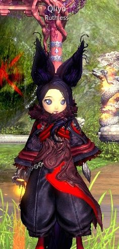 Blade & Soul, Lyn, Force Master. Server: Windrest, Guild: Ruthless #Qliyo