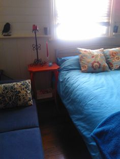 my bedroom <3 my fav colours at the moment