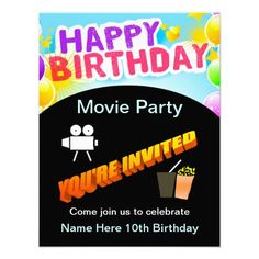 Invitations | Sweet Sixteen, Movie Posters and Party Invitations