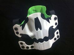Custom Kydex owb holster skull by HYDRAholsters on Etsy, $125.00