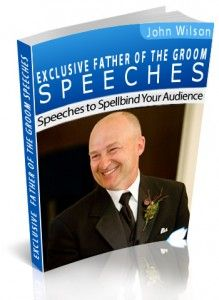 Father of Groom Speeches provides all the information, help & advice you need to give your father of the groom speech with confidence.