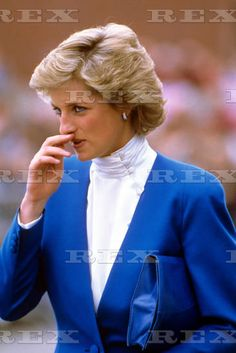May 12 1988 Princess Diana visiting Sheringham, Norfolk