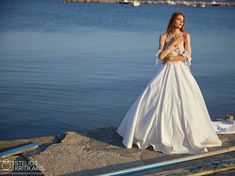 "SL by Leonidas Giannopoulos on Instagram: ""New bridal collection   Designer @leonidas_giannop Photo @stelios.kritikakis Model @amalialiouta Make up @dominakaskani Hair…"" Bridal Collection, Make Up, Formal Dresses, Instagram, Model, Hair, Design, Fashion, Dresses For Formal"