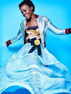 "glamru: "" Лупита Нионго (Lupita Nyong'o) для Madame Figaro http://g-l-a-m.ru/archives/31863 """