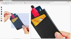 Kinzd Minimalist Sleeve Credit Card Holder Wallet