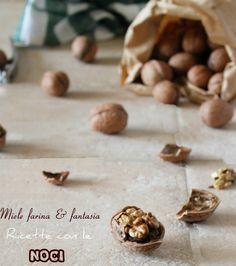 Dall'#antipasto al #dolce, tante ricette con le #noci, preparazioni facili, gustose, coreografiche Antipasto, Dolce, Stuffed Mushrooms, Card Holder, Vegetables, Food, Fantasy, Stuff Mushrooms, Rolodex