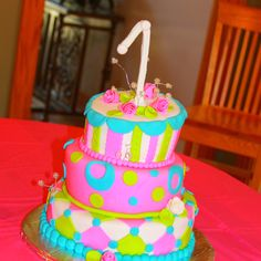 1st Birthday Cake!!!