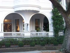 One of Charleston's most famous houses at the Battery.