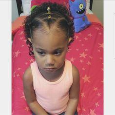 Little Mixed Girl Hairstyles, Little Girls Ponytail Hairstyles, Toddler Braided Hairstyles, Kids Curly Hairstyles, Baby Girl Hairstyles, Girl Hair Dos, Biracial Hair, Mixed Hair, Curly Hair Styles