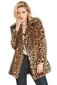 Printed fur to create a rebellious look