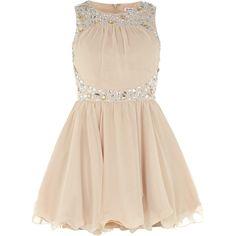 Dorothy Perkins Diamante sleeveless dress (130 BRL) ❤ liked on Polyvore featuring dresses, vestidos, white, white circle skirt, white sleeveless dress, circle skirt, sleeveless dress and white circle skirt dress