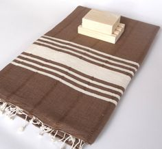 Handwoven Natural Soft Cotton Bath and Beach Towel by TheAnatolian, $28.00