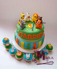 tortas de animales infantiles - Buscar con Google