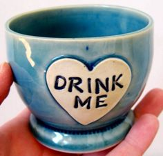 "Alice in Wonderland ""Drink Me"" Tea Cup"