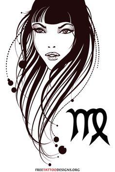 Virgo Tattoos | 50 Designs And Ideas