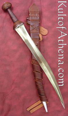 Darksword Gladiator Sica with Interlaced Belt