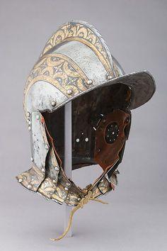 German Burgonet, ca. 1550