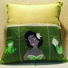 Tiana Designer Remote Control pillow