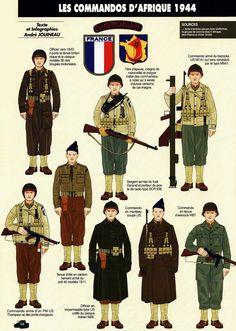Французские коммандос в Африке (1944 год)