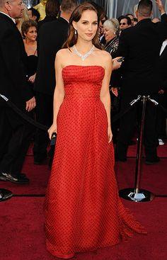 Natalie Portman, Dior, 2012 Academy Awards