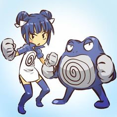 Pokémon - 062 Poliwrath art by hitec (Sankaku Channel)