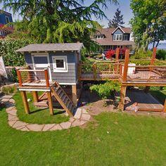 playhouse 2 story sandbox - Google Search