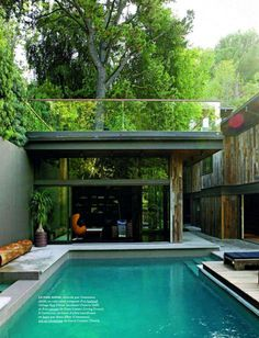 Gorgeous modern home and pool